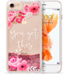 (Pink Flower) Sparkling Waterfall Case