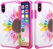 (Sunflower) Design Hybrid Case for iPhone® X
