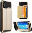 (Gold) Hybrid Wallet Case for iPho