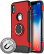 (Red) Sports Hybrid Stand Case for