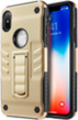 (Gold) Dual Hybrid Metalic Armor case for iPhone