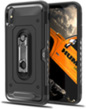 Black Hybrid Case with Card Slot A
