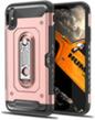 Pink Hybrid Case with Card Slot An