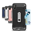 Hybrid Case with Card Slot And Stand for iPhone