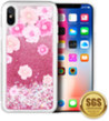 (Summer Rose) Sparkling Waterfall Case for iPhon