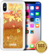 (Autumn Leaves) Sparkling Waterfall Case for iPh