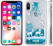 (Winter Deer) Sparkling Waterfall Case for iPhon