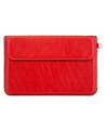 Red Hybrid Pouch with Built-in Stand