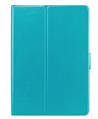 Teal Rotatable Leather Case for iPad Ai