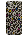 Colorful Leopard Snap On Case iPhone 5