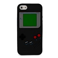 Black Game Silicone Skin for Apple iphone 5th Ge