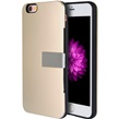 Luxury Card Holder Hybrid Case w/Stand for iPhone