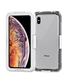 Waterproof Case for iPhone Xs Max, White