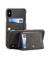 Nate Wallet Case Blac with Viewing Kickstand for