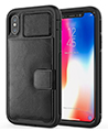 Kona Cellphone Wallet Case for iPhone X, Xs, Bl