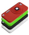 Camera Silicone Skins for iPod Touch 5th Generat