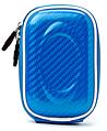 LightBlue Candy Glossy TPU Semi Hard Slim Camera
