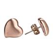 (Rose Gold) Brilliant Heart Studs