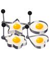 Stainless Steel Fried Egg Molds