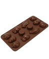 Fruit-Shaped Silicone Chocolate Mold