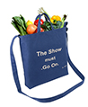 Canvas Transport Tote bag, The show must go on,