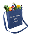 Canvas Transport Totebag, You never wal