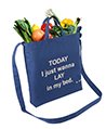 Canvas Transport Tote bag, Today I just