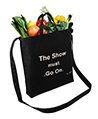 Canvas Transport Totebag, The show must go on, B