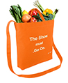 Canvas Transport Totebag, The show must go on, O