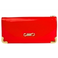 (Red) Vangoddy Tory Wristlet Clutch