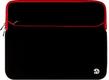 (Black/Red) Neoprene 17 Laptop Car