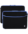 (Black/Blue) Neoprene 17 Laptop Carrying Sleeve