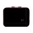 Microsuede 8 (Black/Pink Trim) Rear Pocket Carryi