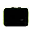 Microsuede 8 (Black/Green Trim) Rear Pocket Carry