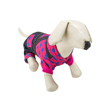 Pink Star Denim Overall Dog Suit