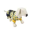 Yellow Star Denim Overall Dog Suit