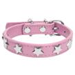 (Extra Large) Dog Collar (Pink Star)