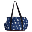 CueCue Deluxe Paw Print Pet Carrier Size S