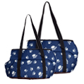 CueCue Deluxe Paw Print Pet Carrier