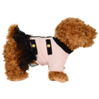 Pink And Black Suit Dog Dress