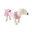 Pink White Floral Dog Dress