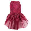Dog Dress (Red Sequin Princess)