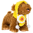 Yellow Dog Hat and Scarf