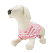 Pink White Stripe Dog Shirt