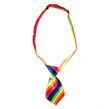 Dog Neck Tie (Rainbow Stripe)