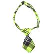 Dog Neck Tie (Green Plaid)