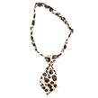 Dog Neck Tie (Light Leopard)
