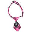 Dog Neck Tie (Pink Plaid)