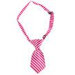 Dog Neck Tie (Pink Stripe)