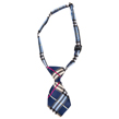 Dog Neck Tie (Blue/Yellow Plaid)